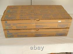 New Genuine Konica Minolta TN321 C M Y Simitri HD Toner Cyan Magenta Yellow
