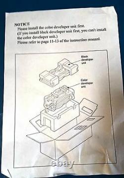 New Genuine Original Konica Minolta Kl3015 Black And Color Developer Unit Kit
