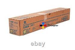 TN-221Y A8K3230 TN221Y Genuine Konica Minolta, Yellow Toner For C227