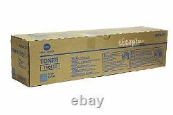 TN612C, A0VW435, Genuine Konica Minolta BIZHUB C5501 C6501 Cyan Toner