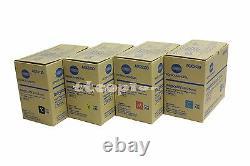 TNP18 CMYK Genuine Konica Minolta Lot of 4, Set Magicolor For 4750EN