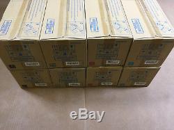 2 Sets Konica Minolta Tn711 Véritable Cmyk Toner Pour Bizhub C654 C654e C754 C754e