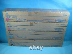 4 Cartouches De Toner Konica Minolta Tn321 Authentiques Ckmm
