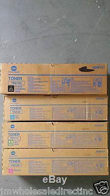 4 Originale Konica Minolta Bizhub C6500 C5500 Toner Tn610c Tn610k Tn610y Tn610m