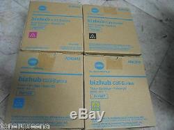 4 Véritable Konica Minolta Bizhub C35 C35p Toner Tnp22k Tnp22y Tnp22m Tnp22c