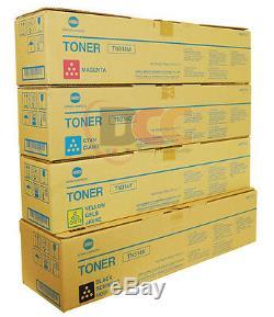 4 Véritable Konica Minolta Tn314 Bizhub C353 Cartouche De Toner Set Cymk Tn314cymk