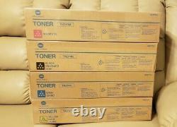 4 Véritable Konica Minolta Tn314k Tn314c Tn314m Tn314y Bcmy Toner Cartouches Oem