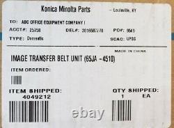 4049-212-genuine Konica Minolta 65ja-4510 Unité De Ceinture De Transfert Oem Nouveau