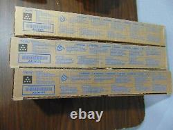 6 Boîtes Tn216k A11g131 Véritable Blk Toner Pour Konica Minolta C280 C220 Nouvelle Boîte