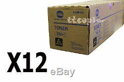 A04p130 Tn610k Véritable Lot De 12 Konica Minolta Toner Noir C6500 C5500