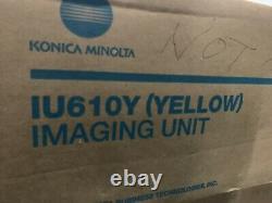 A06007f Véritable Konica Minolta Bizhub C550 C451 C650 Unité D'imagerie Jaune Iu610y