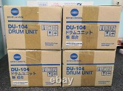 A2vg0y0 Véritable Konica Minolta Drum Unité Du-104 Lot De 4pcs