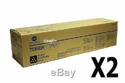 A3vu130 Tn711k Tn711k Véritable Konica Minolta Lot De 2 Toner Noir Pour C654