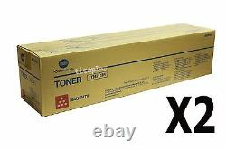 A3vu330 Tn711m Tn-711m Lot Authentique Konica Minolta De 2, Toner Magenta Pour C654