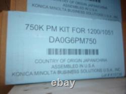 Da0g6pm750-genuine Konica Minolta 750k Pm Kit Pour Bizhub Pro 1051/1200p