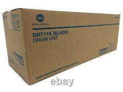 Dr-711k, A2x20rd, Dr711k Véritable Konica Minolta Bizhub C654 C754 Unité De Tambour Noir