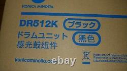 Dr512k, A2xn-0rd Véritable Konica Bizhub C554 C454 C364 C284 C224 Unité De Tambour Noir