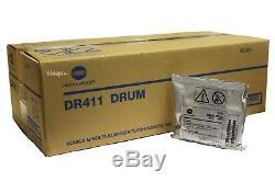 Dv411 Et Dr411 Konica Minolta Véritable Unité Drum & Developer Pour 223 363