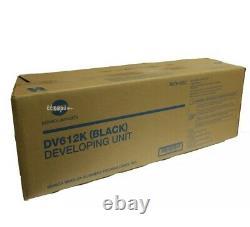 Dv612k, A0tk03d Véritable Konica Minolta C452 C552 C652 Noir Developer Unit Nouveau