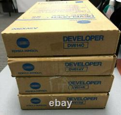 Dv614 Cmyk Véritable Konica Minolta Set, Développeur Pour La Presse C1060
