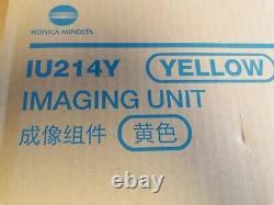Iu214y Unité D'imagerie Jaune Konica Minolta Véritable A85y-09d