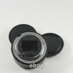 Konica Macro Hexanon Ar 55mm F3.5 Lens + 11 Adaptateur + Bouchons Et Pochettes Authentiques
