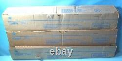 Lot De 3 Authentique Konica Minolta Toner Noir Tn515 A9e8030 Livraison Gratuite