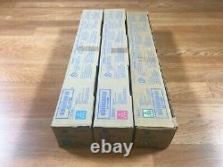 Lot De 3 Authentique Konica Tn319 Cmy Toner Pour Bizhub C360 Fedex 2 Jours