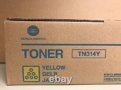 Lot Of 3 Genuine Konica Minolta Toner Cartridges Tn314c, Tn314m, Tn314y Free Ship