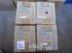 Nouveau! 4p Véritable Konica Minolta Bizhub C3110 C3100p Drum Unit Iup23c Iup23m
