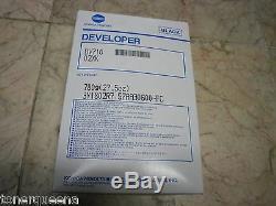 Nouveau Konica Minolta Véritable 600 601 750 751 Copieur Developer Starter Dv710 02xk