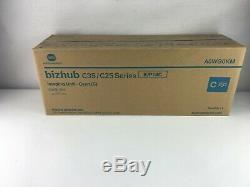 Nouveau Konica Minolta Véritable Iup14 Imaging Unit Set Pour C25 C35 C35p Iup14cymk
