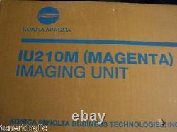 Nouveau Véritable Konica Minolta Bizhub C250 C252 Magenta Drum Unit Iu210m 4062-401