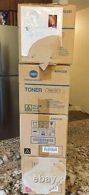 Oem Genuine Konica Minolta Tn711 Full Toner Set C/m/y/k