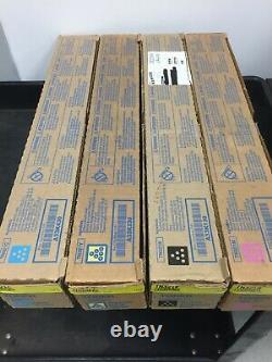 Pièce Authentique Konica Minolta Tn321 (cmyk) Toner Cartouche Set