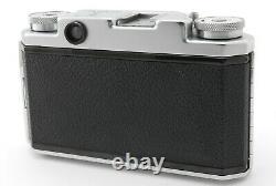 Rare Near Mint+ Konica Iib-m 35mm Film Rangefinder, Genuine Case From Tokyo