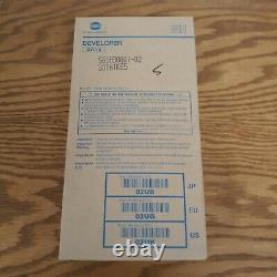 Scellé Dv-010 Dv010 Véritable Konica Minolta Développeur Pour 1050 1050p 02uk