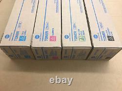 Set Konica Minolta Tn619 Véritable Cmyk Toner Pour C1060 C1070 C2060 C2070