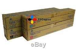 Tn216c Tn216m Tn216y Tn216k Set Minolta Véritable Konica Bizhub C280 Toner C220