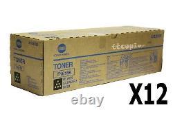 Tn616k, A1u9130 Lot 12 Genuine Konica Bizhub Press C6000 C7000 Black Master Case
