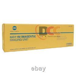 Véritable Ensemble Complet D'unité D'imagerie Iu311 Cmyk Pour Bizhub C300 C352