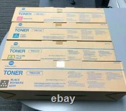 Véritable Ensemble De Toner Konica Minolta Tn-312 8938-701/702/703/704 Pour Utilisation En C300/352