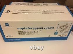 Véritable Konica Minolta 1710602 008 High Cap Cyan Toner Magicolor 5440dl 5440 Km