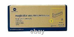 Véritable Konica Minolta 4600 4650 5600 Imprimante Unité D'imagerie Jaune Drum A03105f