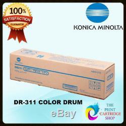Véritable Konica Minolta Bizhub C220 / C280 / C360 Couleur Drum Unit A0xv0td Dr311cmy