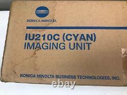 Véritable Konica Minolta Bizhub C250 / C252 Cyan Iu210c
