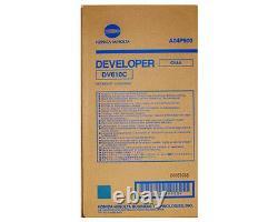 Véritable Konica Minolta Bizhub Pro C5500 / C6500 Cyan Developer Dv610c A04p900