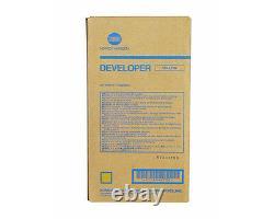Véritable Konica Minolta Bizhub Pro C5500 / C6500 Développeur Jaune Dv610y A04p700