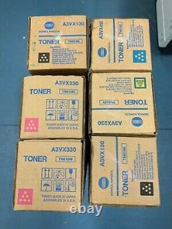 Véritable Konica Minolta Bizhub Tn619 Toner X6 Tn619k Tn619m Tn619y Tn619c Oem