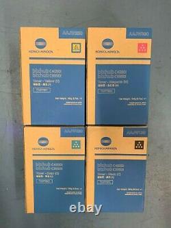 Véritable Konica Minolta Bizhub Tnp79k Tnp79c-m-y Toner Set C4050i C3350i Oem